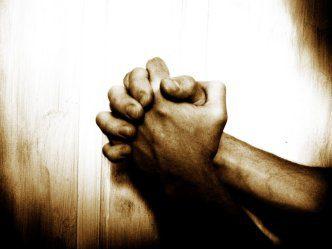 the pastor at prayer