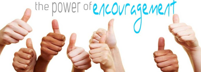 leadership lessons - encouragement